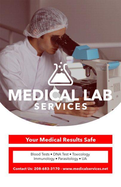 Online Flyer Maker for Medical Labs 409e