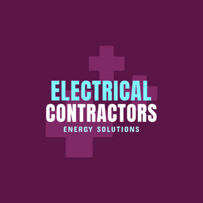 Logo Generator for Electrical Contractors 1478a
