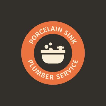 Plumber Service Logo Template 1475d
