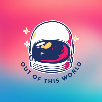 Astronaut Popsocket Design Template 688c