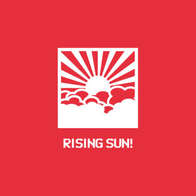 Japanese Rising Sun PopSocket Design Maker 687c