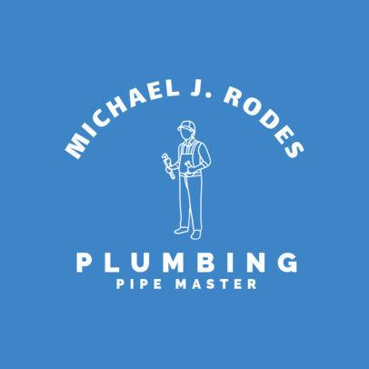 Pipe and Plumbing Maintenance Logo Generator 1501e