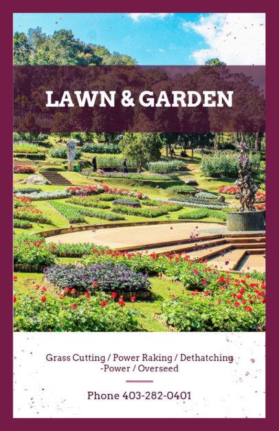 Garden Care Flyer Maker 697d