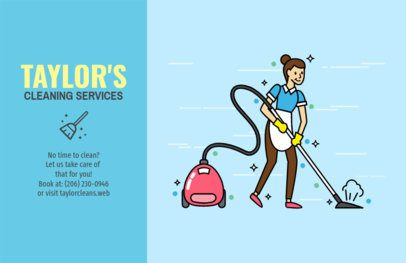 Professional Cleaning Services Online Flyer Maker 693d