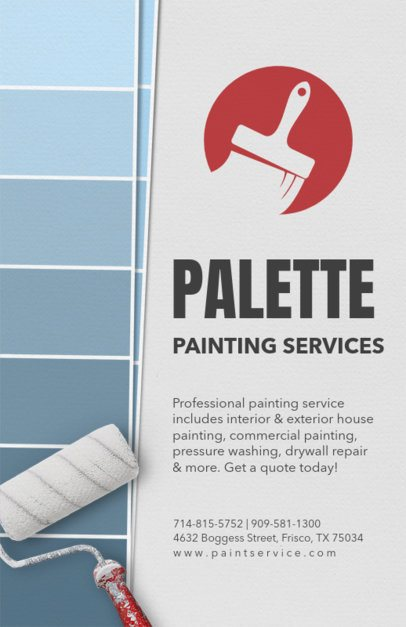 Painting Services Flyer Template 720