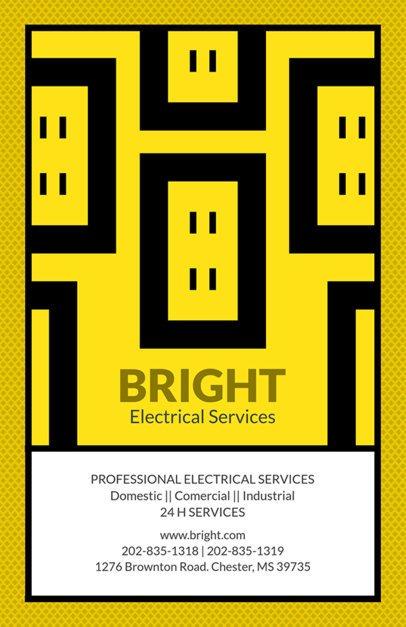 Electrical Services Online Flyer Maker 725
