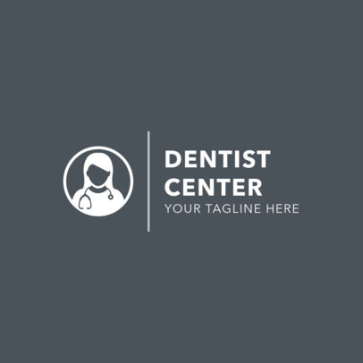 Logo Maker for a Dentist Center 1485c