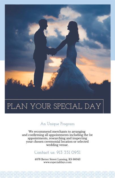 Flyer Maker for Wedding Planning Services 365d