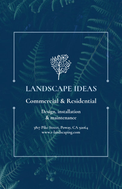 Landscaping Flyer Template 699c--1762
