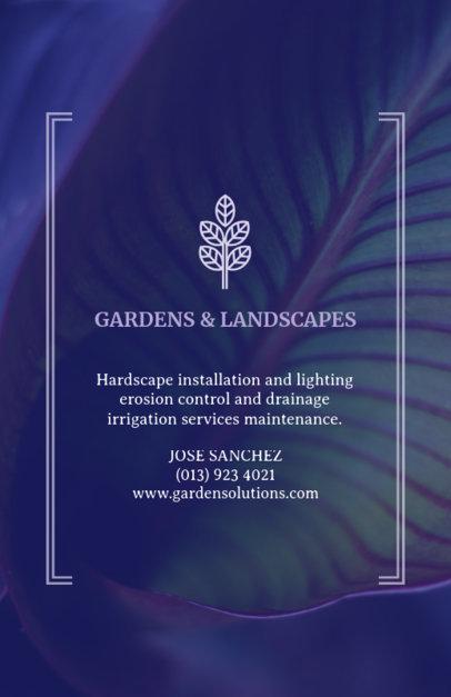 Gardening Flyer Template 699e