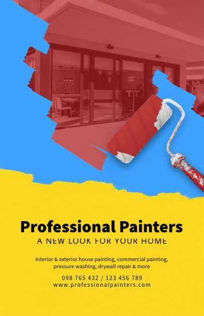Flyer Maker for Professional Painters 712c
