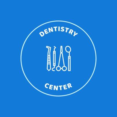 Dentistry Online Logo Template 1486b