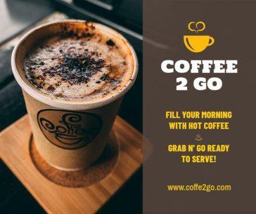 Coffee Shop FB Post Maker 673b