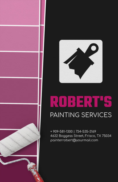 Flyer Template for a Painting Services Company 720e
