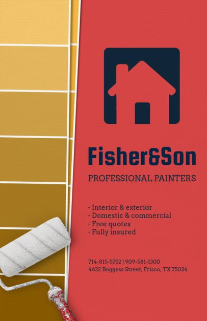 Professional Painters Flyer Template 720c