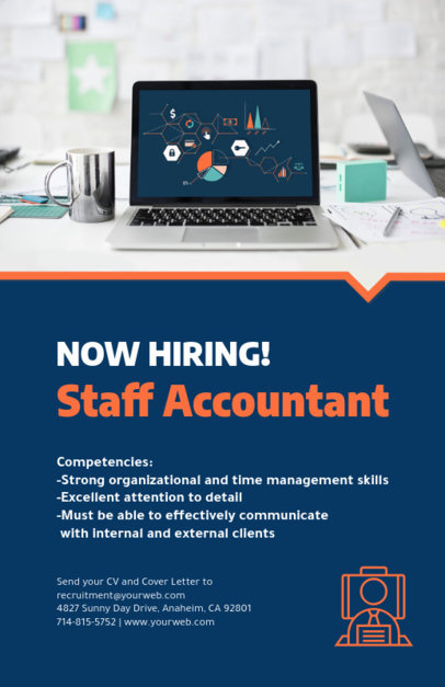 Staff Accountant Online Flyer Maker 713c