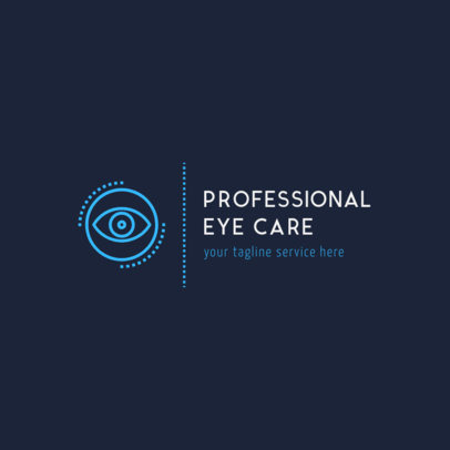 Logo Template for Professional Eye Care Clinic 1495c