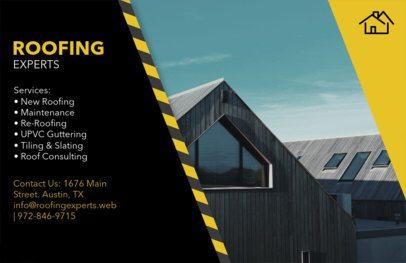 Horizontal Roofing Flyer Maker 745