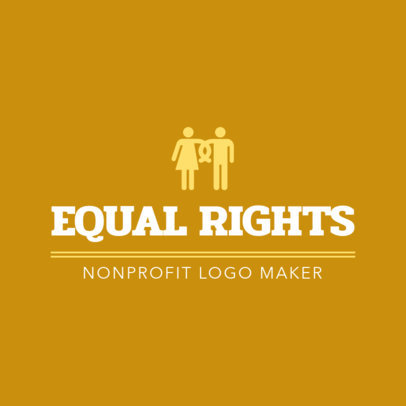 NPO Logo Maker for an Equal Rights Cause 1474c