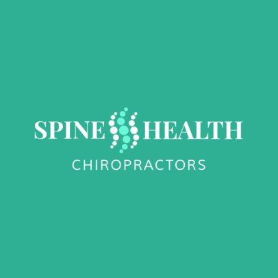 Spine Health Clinic Logo Template 1490c
