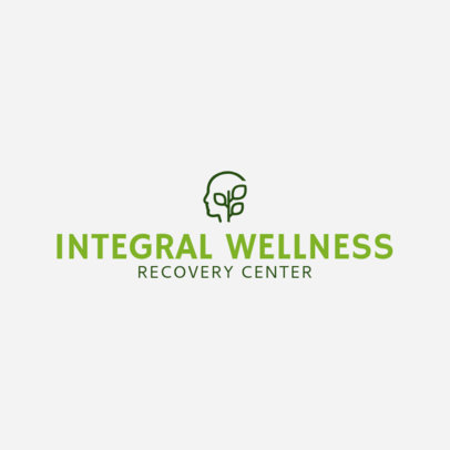 Recovery Center Logo Template 1509b