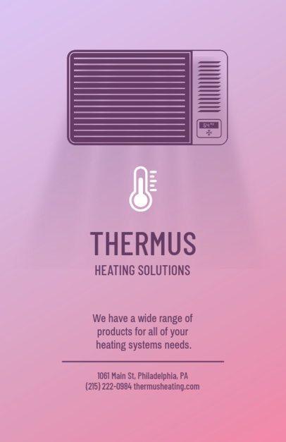 Thermostat Installation Flyer Maker 709a