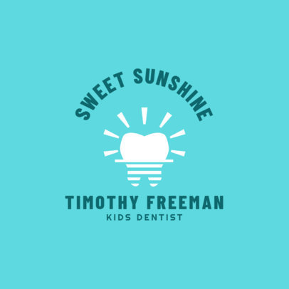 Logo Creator for Pediatric Dentist 1488d