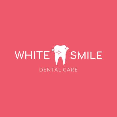 Simple Dental Care Logo Creator 1487a
