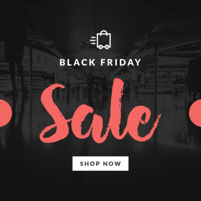 Black Friday Sale Ad Banner Template 746
