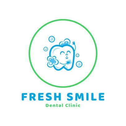 Dental Clinic Logo Template 1489b