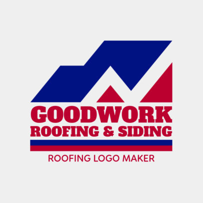 Roofing and Siding Logo Template 1480