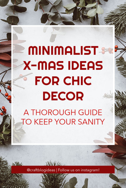 X-Mas Decoration Ideas Pinterest Pin Template 627e