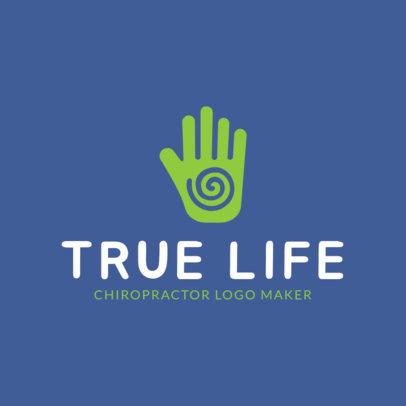 Logo Generator for Chiropractors 1493b