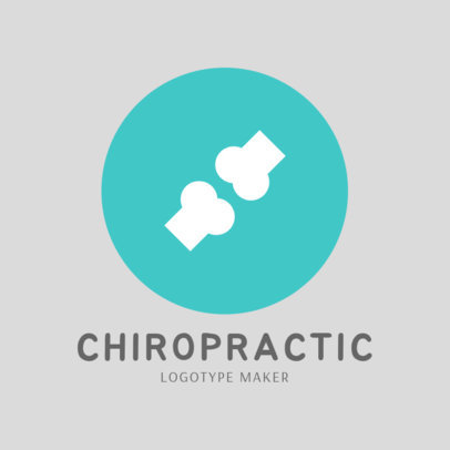 Logo Creator for Chiropractic Clinics 1493c