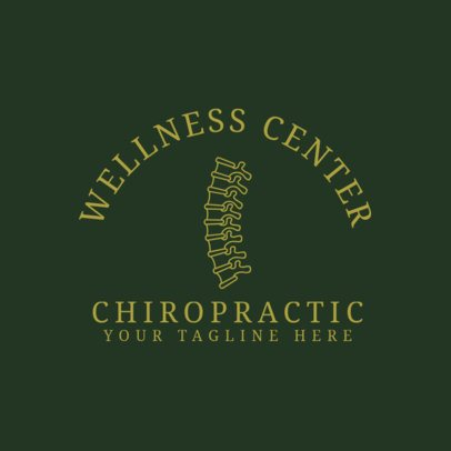 Chiropractic Clinic Logo Creator 1491c
