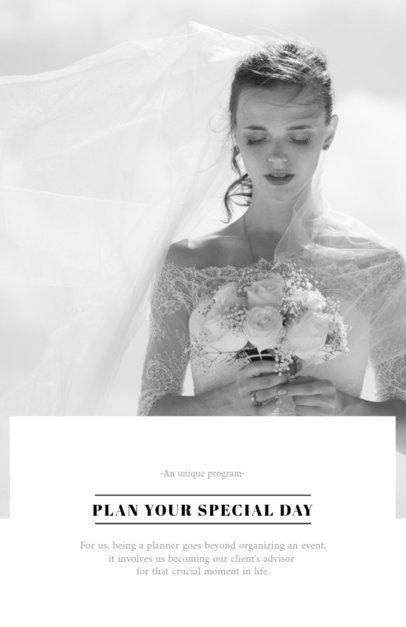 Wedding Planners Flyer Template 707d