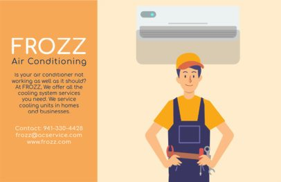 Horizontal Flyer Maker for Air Conditioner Business 740b