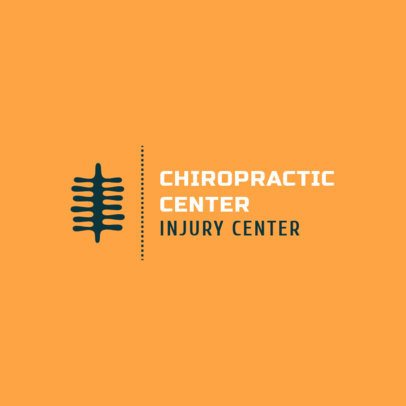 Logo Maker for a Chiropractic Center 1492c