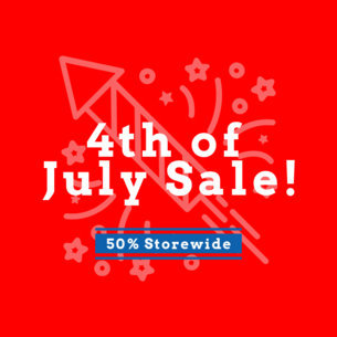 Ad Banner Maker for 4th of July 744a
