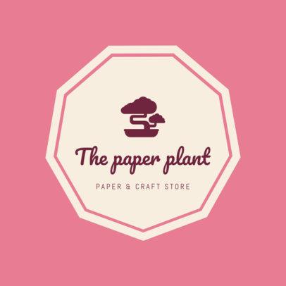 Paper & Craft Store Logo Maker 1277a