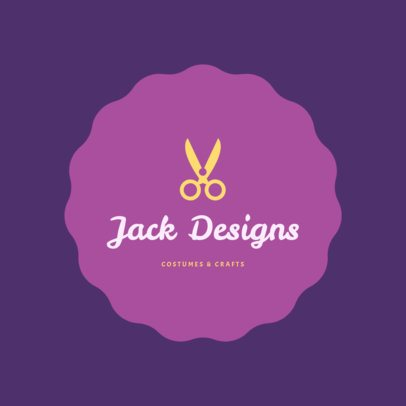 Logo Maker for Costume and Crafts Store 1277c