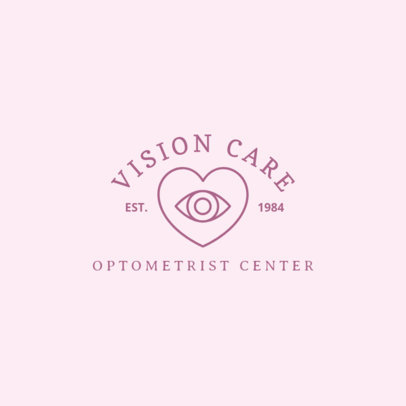 Logo Template for Vision Care Specialist 1497c