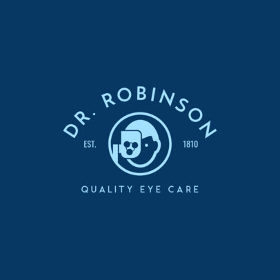 Ophthalmology Specialist Logo Template 1497e