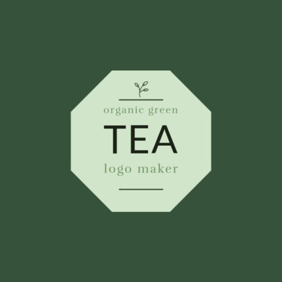 Logo Template for Organic Tea Shop 1345a