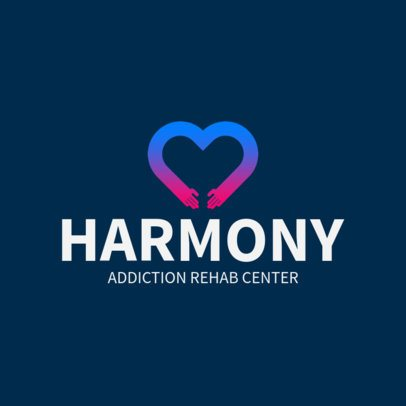 Logo Template for a Rehab Center 1508e