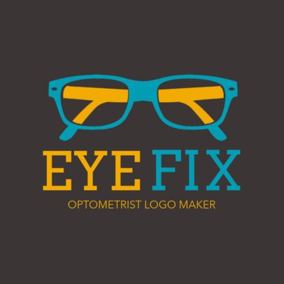 Eye Care Center Logo Maker 1514d