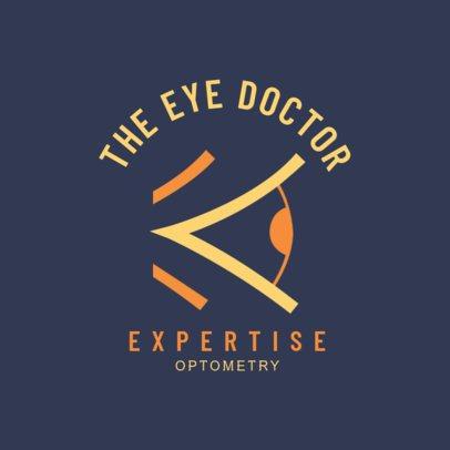 Optometry Expert Logo Creator 1515a