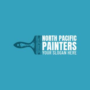Professional Painting Company Logo Creator 1436e