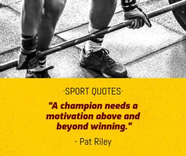 Sports Quotes Facebook Post Template 665a