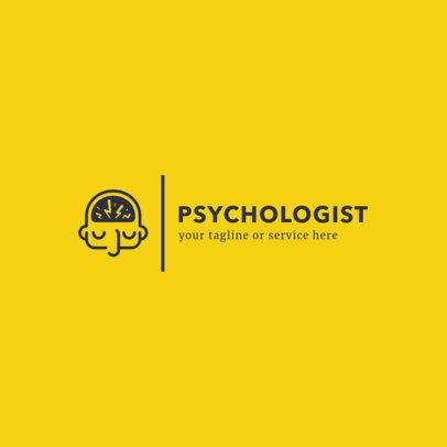 Minimalist Therapist Logo Design Maker 1523c